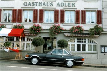 Clubgründung in Küssnacht a.R. / Gasthaus Adler