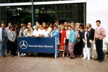 Museumsbesuch Daimler-Benz