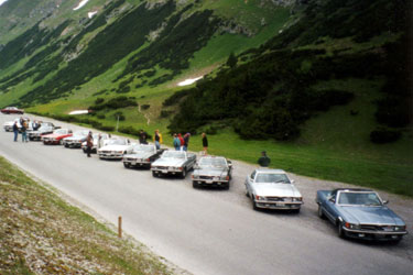 Fahrt ins Tirol