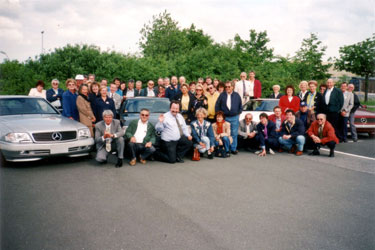 Flugreise Daimler-Benz Werk Bremen