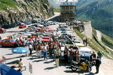 Furkapass, Rhonengletscher Wallis